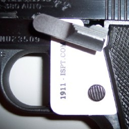 ISPT-Cold-Mustang-Govt-380-White-on-Pistol